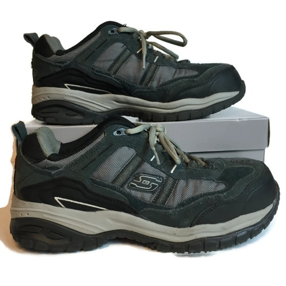 skechers steel toe tennis shoes
